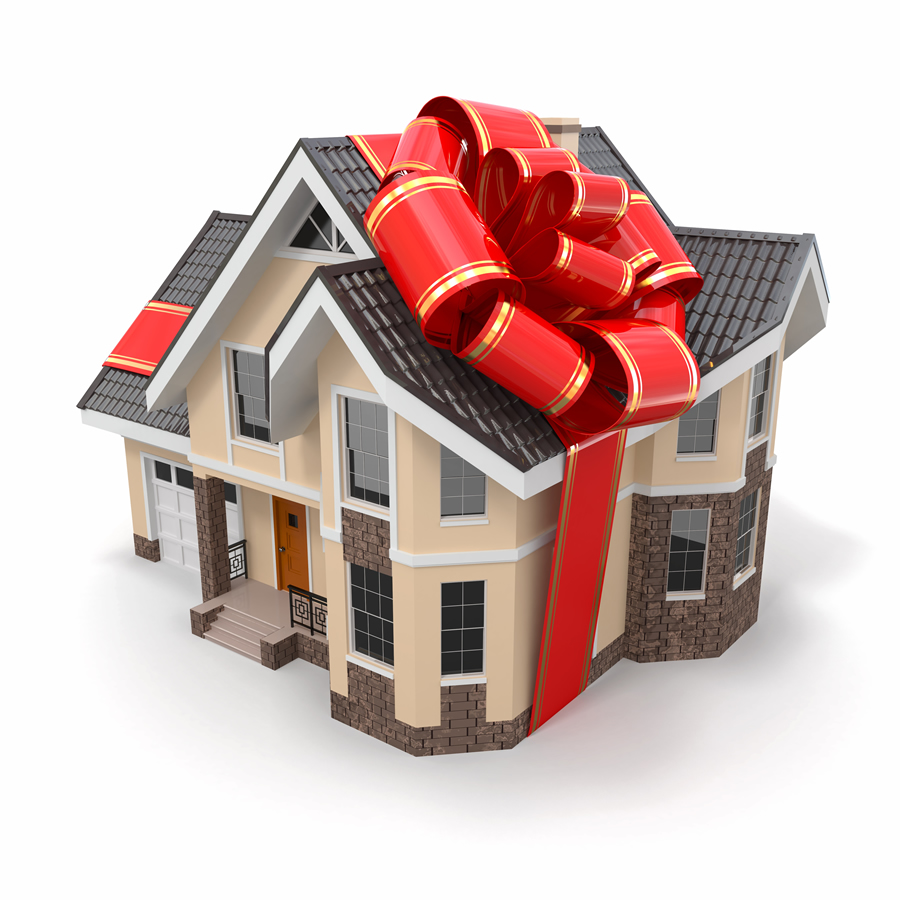 Фото дом в подарок