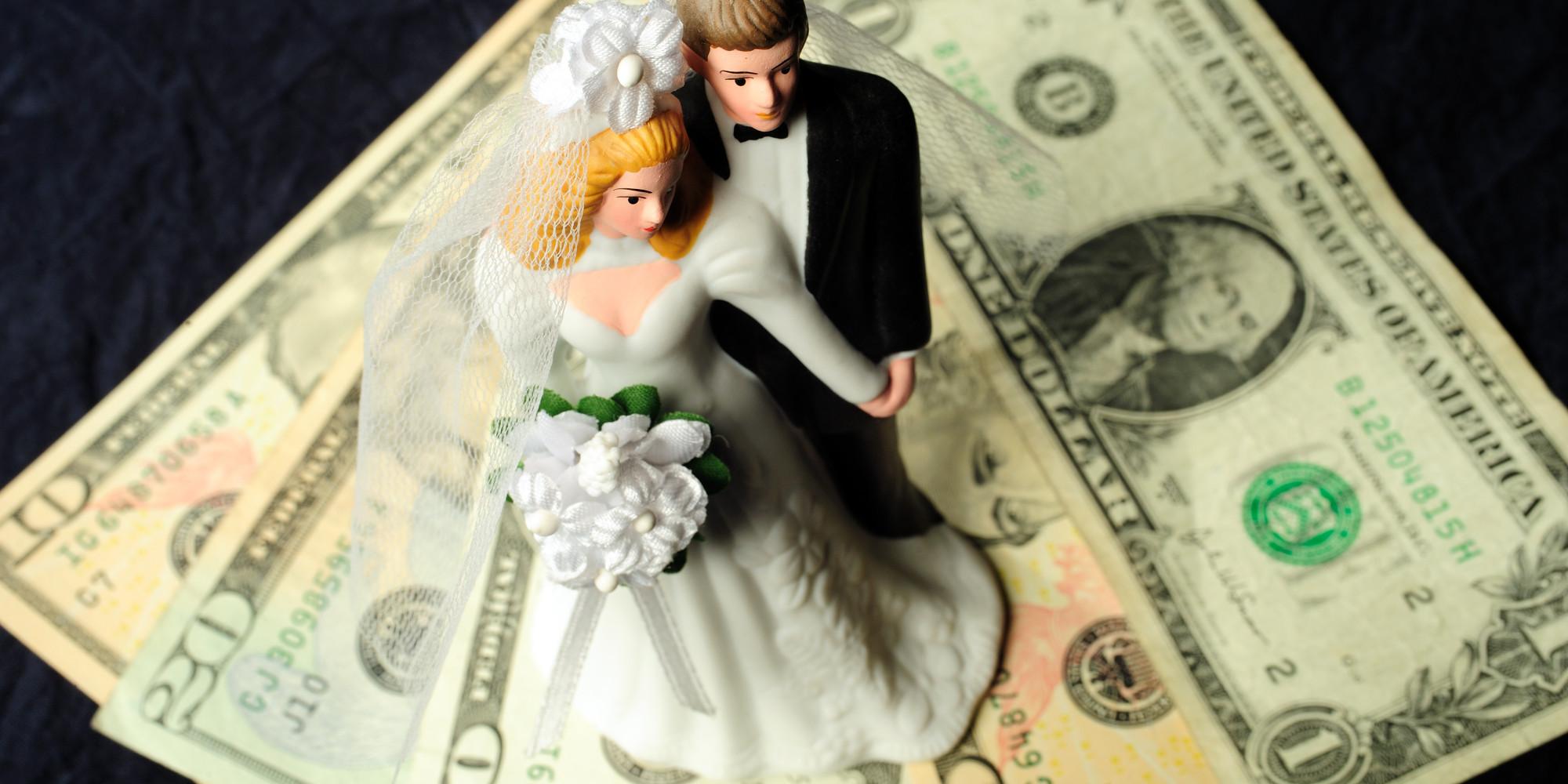 Почему деньги на свадьбу