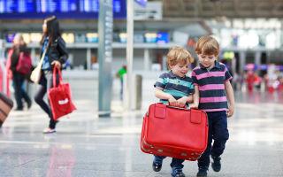 Порядок выезда несовершеннолетнего ребенка за границу без сопровождения родителей