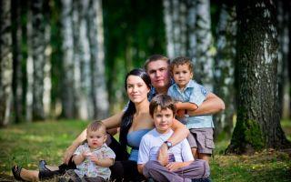 Перечень льгот, положенных для многодетных семей