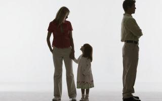 Процедура подачи на развод в одностороннем порядке, если есть совместный ребенок