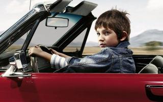 Наказание в ситуации, если за рулем несовершеннолетний