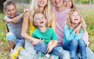 Порядок получения налоговых льгот многодетными семьями