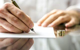 Порядок составления заявления на развод