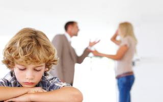 Процедура подачи на развод, если имеются несовершеннолетние дети