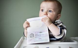 Процедура регистрации несовершеннолетнего ребенка