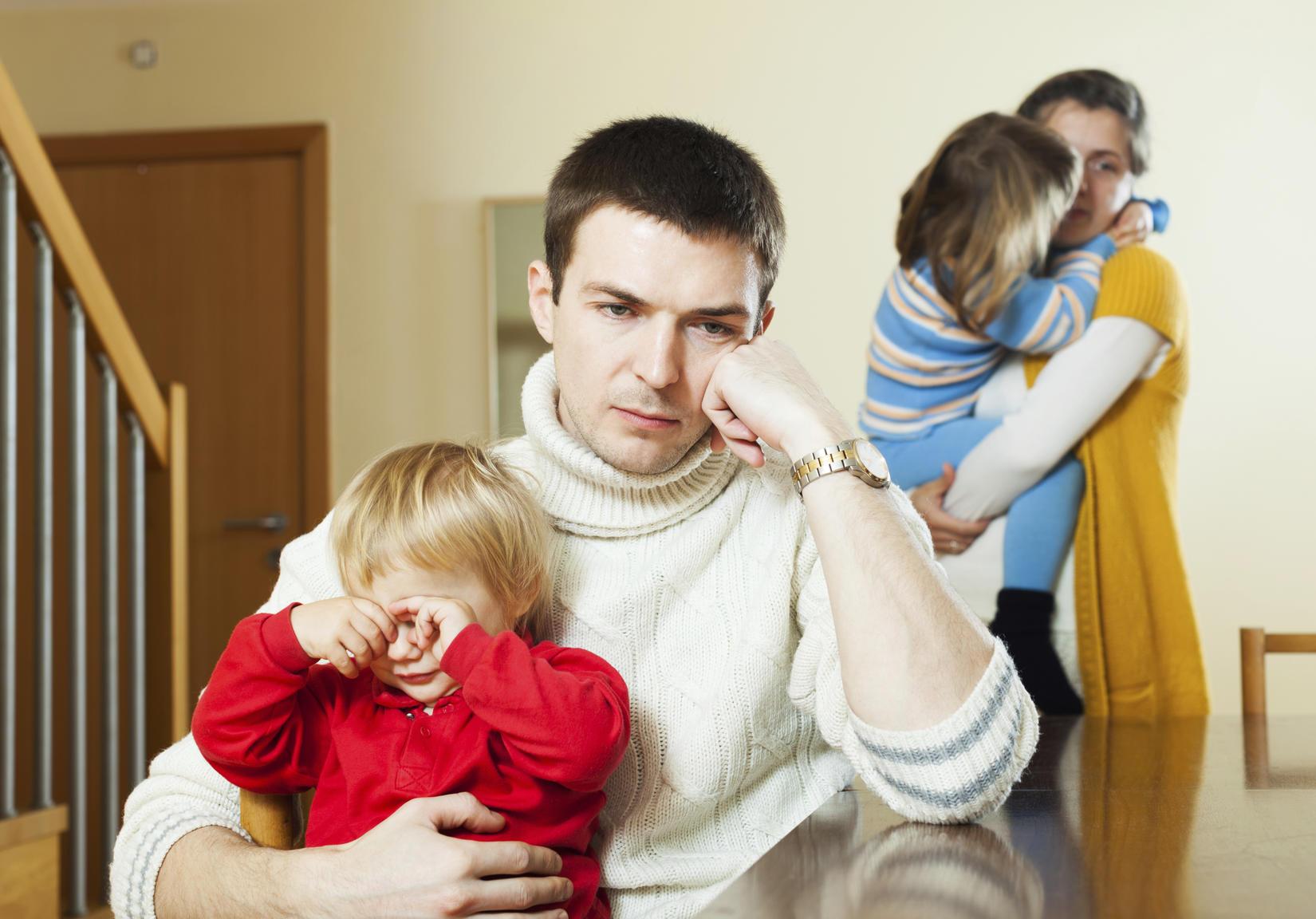 Раздел квартиры при разводе, если есть дети
