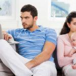 Выплата алиментов на супругу и ребенка