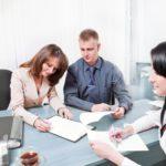 Подписание соглашения на алименты между супругами