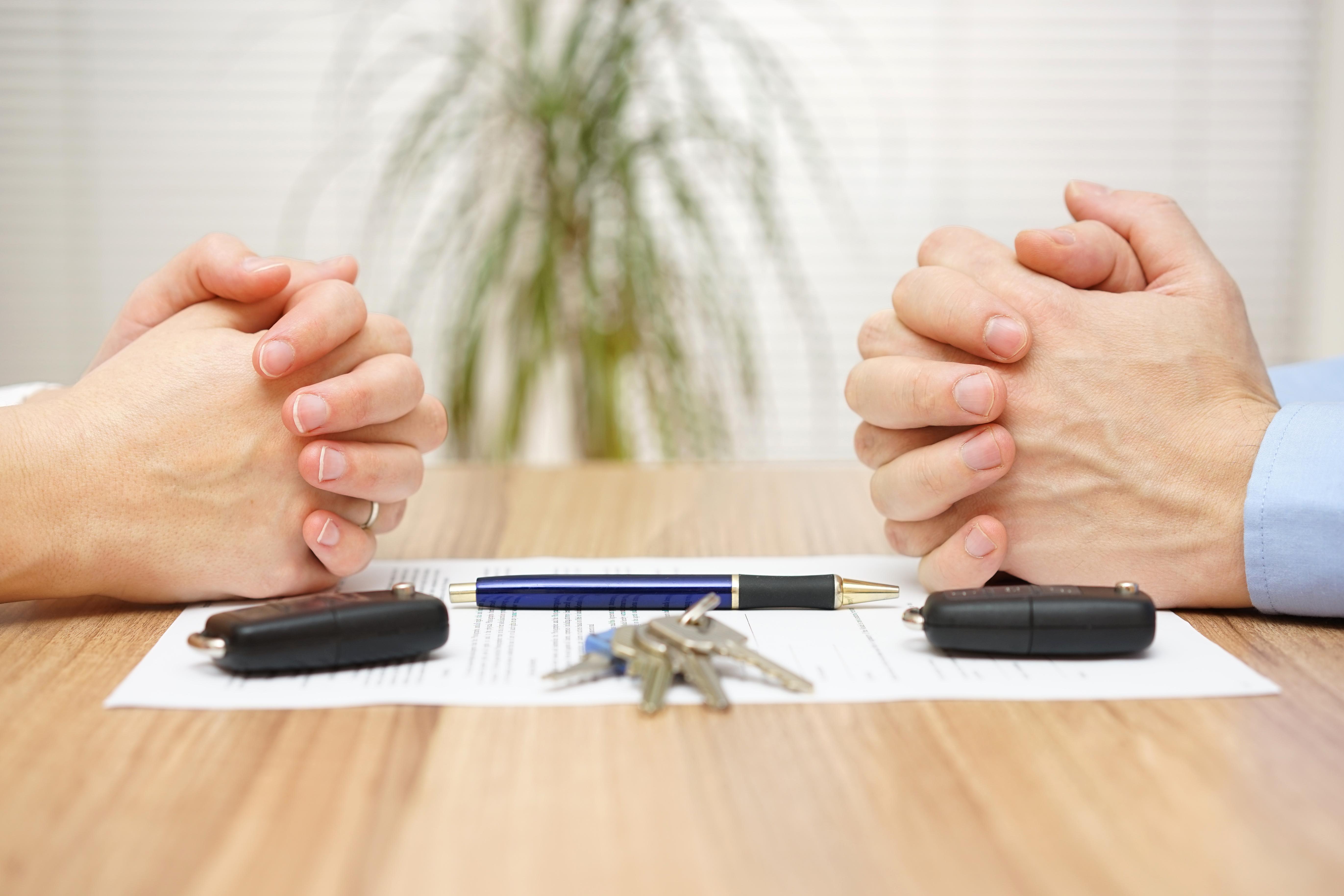 Как делится машина при разводе