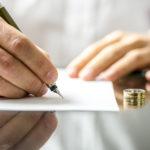 Подписание документов на развод