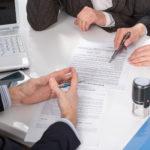 Составления соглашения в нотариальной конторе