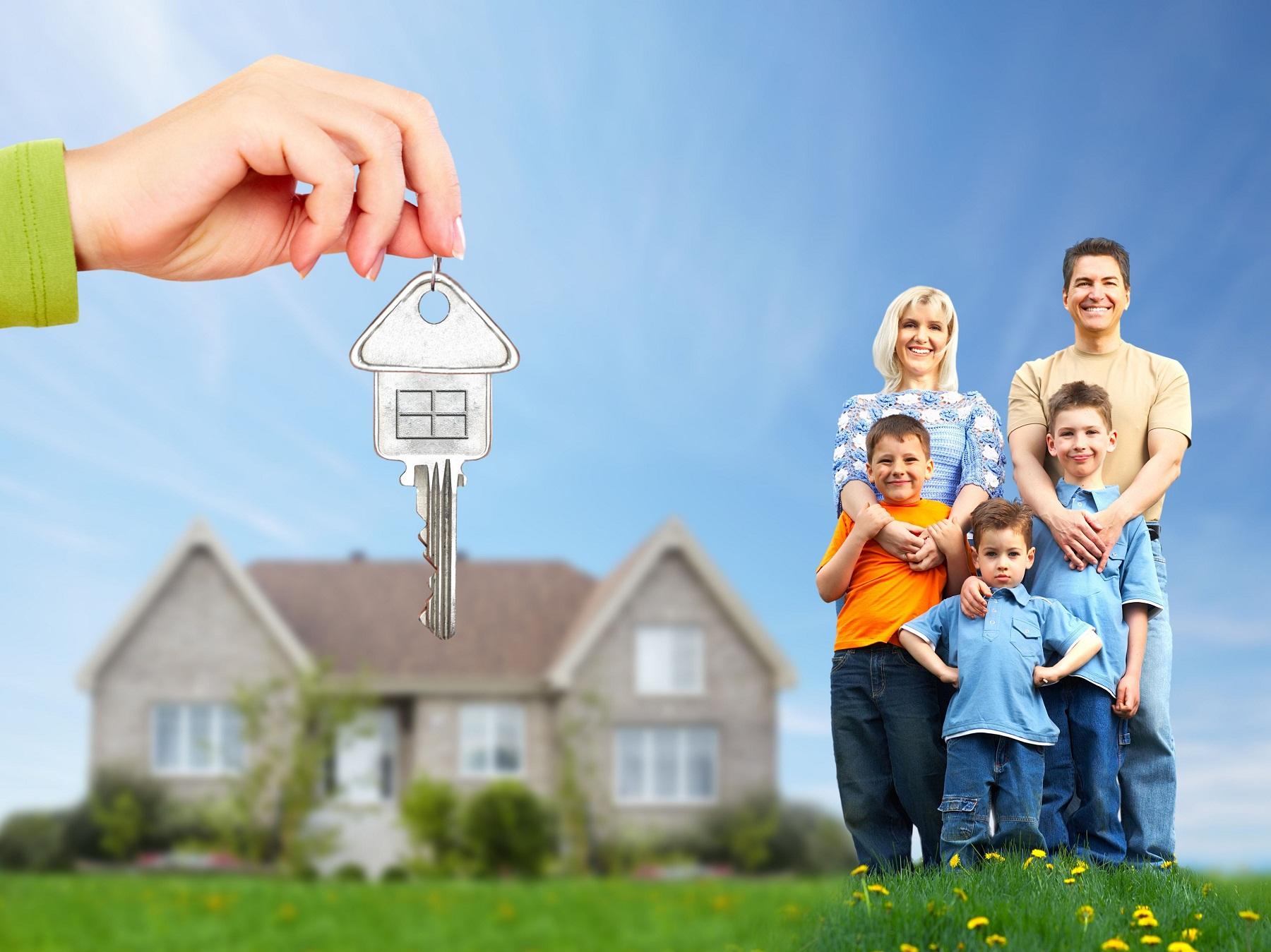 Как многодетной семье получить квартиру