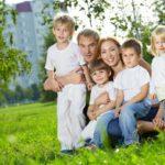Участок может получить семья, где воспитываются не менее 3 детей