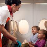 Путешествие детей на самолетах без взрослых
