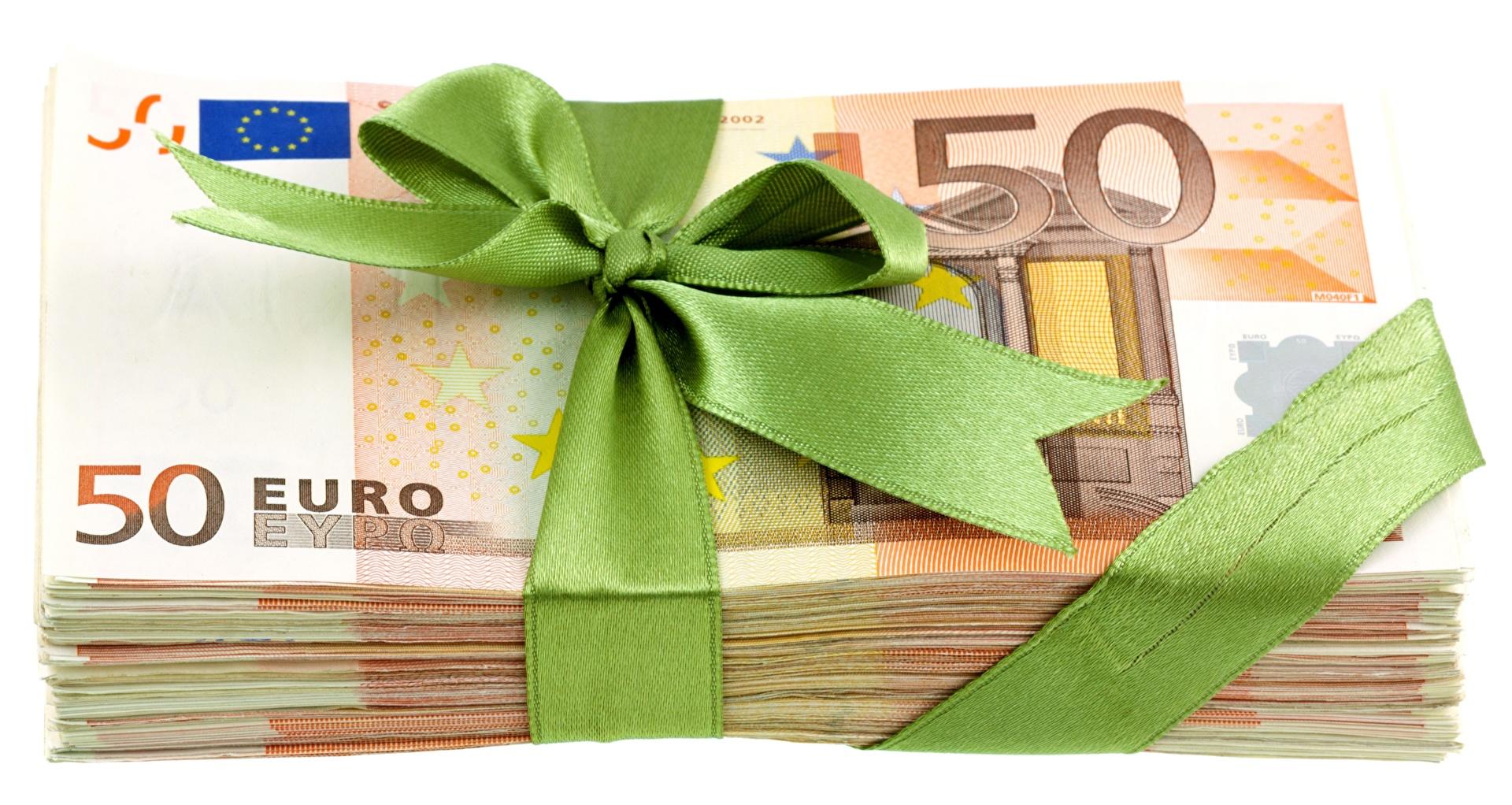 Договор дарения денежных средств