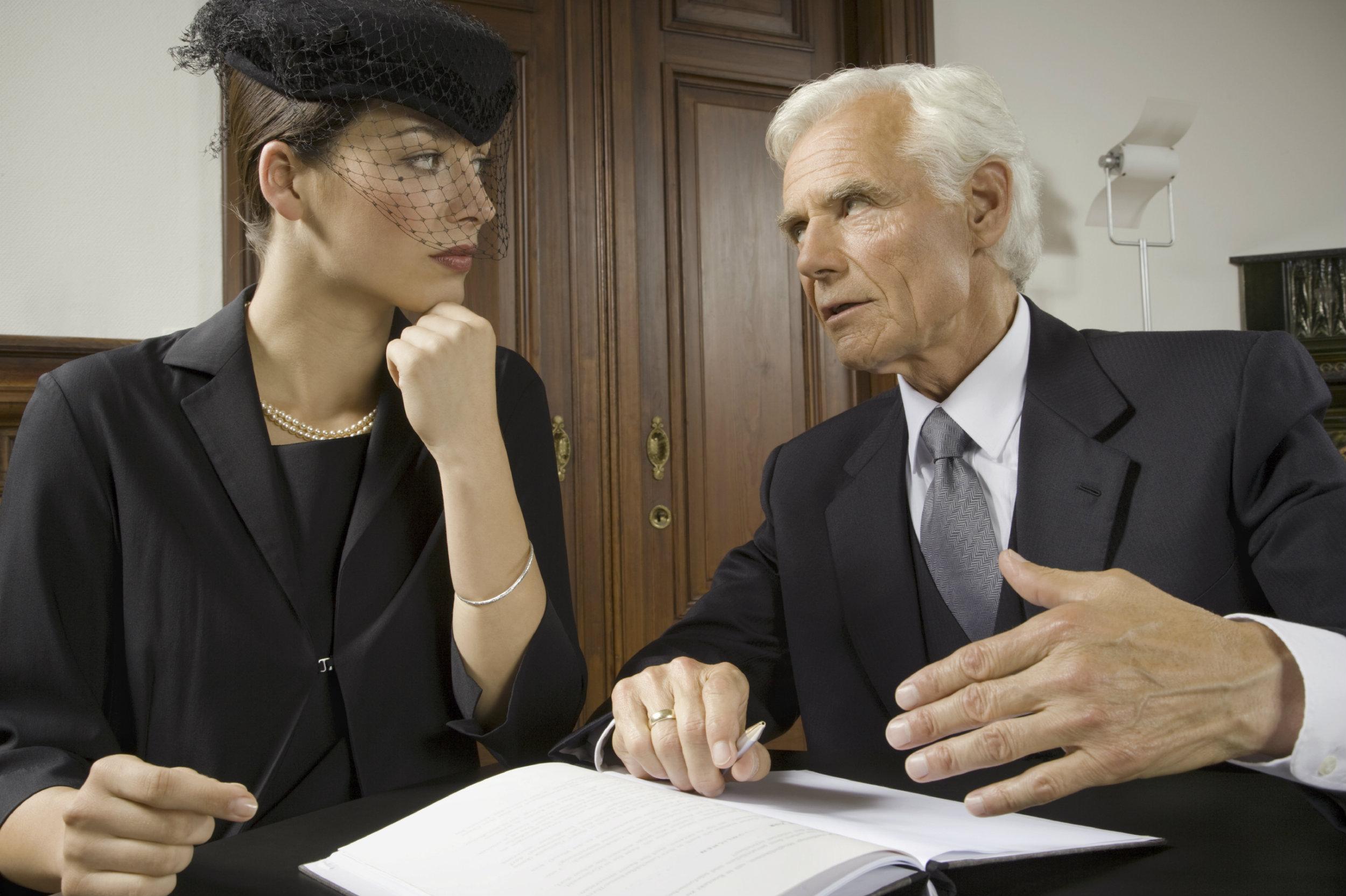 Право жены на наследство мужа