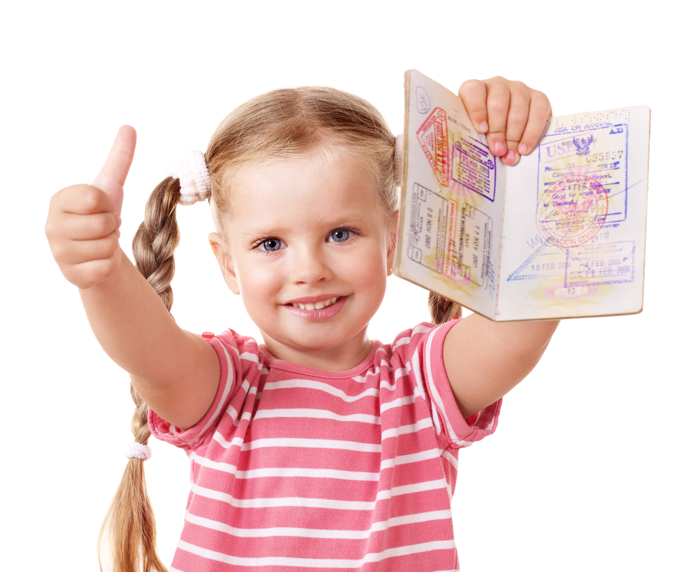Шенген несовершеннолетнему ребенку