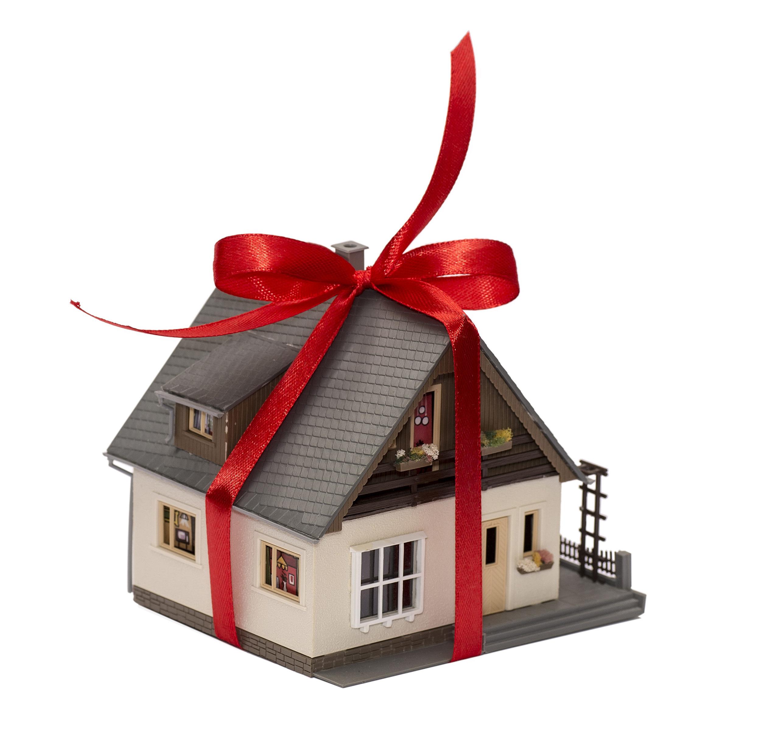 Картинки дом в подарок